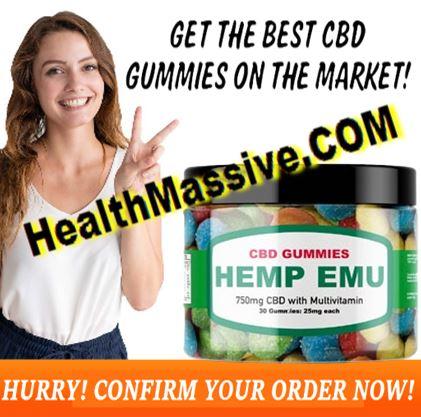 Hemp EMU CBD Gummies