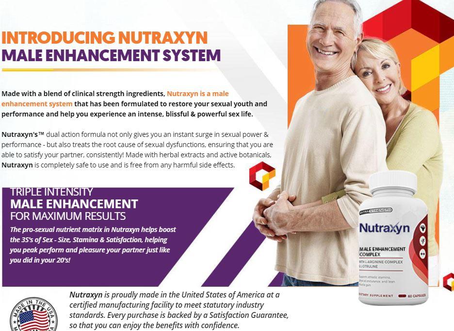 Nutraxyn Male Enhancement