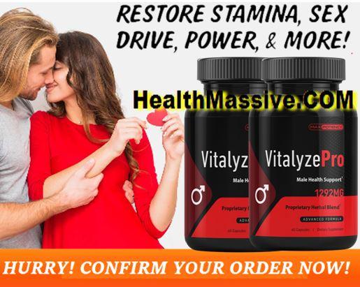 Vitalyze Pro Male Enhancement