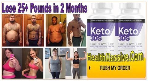 Keto 3DS Weight loss Pills