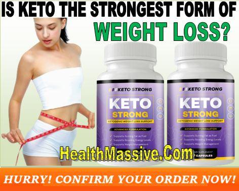 Keto Strong SHark Tank Supplement