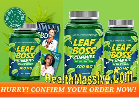 Leaf Boss CBD Spectrum Gummies