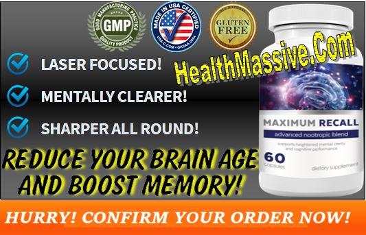 Maximum Recall Cognivex Pills