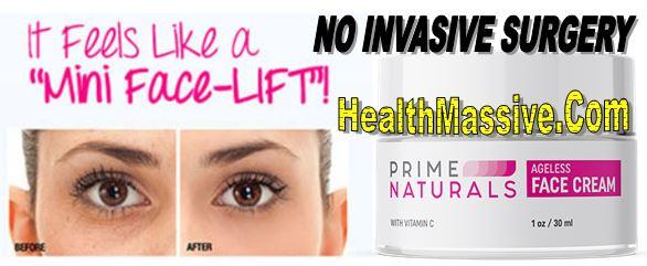 Prime Naturals Ageless Face Cream