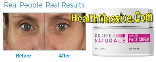 Prime Naturals Ageless Skin Cream