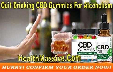 Quit Drinking CBD Gummies