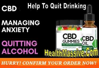 Quit Drinking CBD Tincture Oil