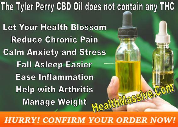 Tyler Perry CBD Tincture Oil